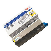 Okidata OEM Yellow 44318601 Toner Cartridge 11.5K Page Yield