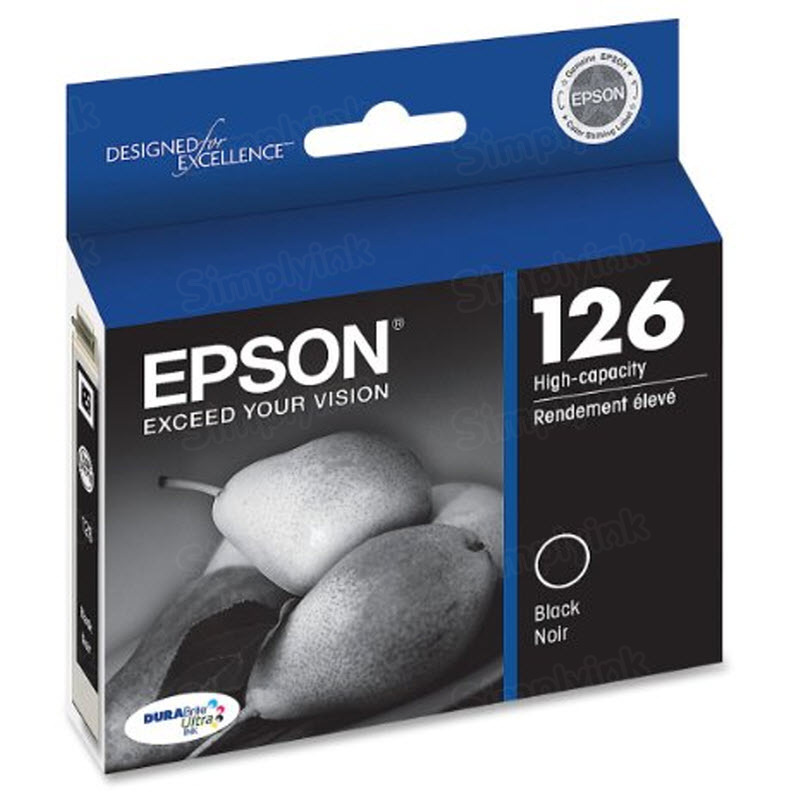 Epson 126 Black OEM Ink Cartridge (T126120)