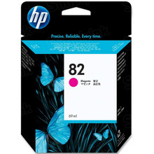 Original HP 82 Magenta Ink Cartridge in Retail Packaging (C4912A) High-Yield