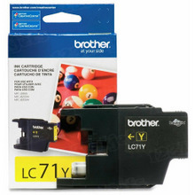 Brother LC71Y Yellow OEM Ink Cartridge