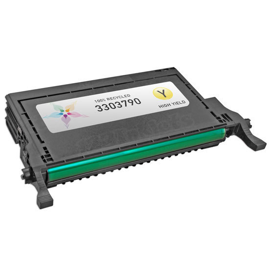 Refurbished Alternative for F935N HY Yellow Toner for the Dell 2145cn