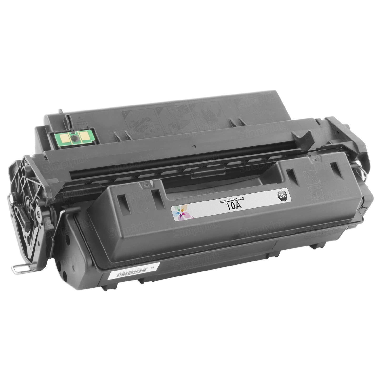 Remanufactured Replacement Black Laser Toner for HP 10A