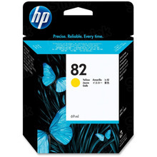Original HP 82 Yellow Ink Cartridge in Retail Packaging (C4913A) High-Yield
