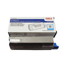 Okidata OEM Cyan 44318603 Toner Cartridge 11.5K Page Yield