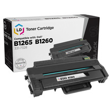 Compatible Alternative to Dell 331-7328 (RWXNT) Black Laser Toner Cartridges for the Dell Laser B1260dn & B1265dnf