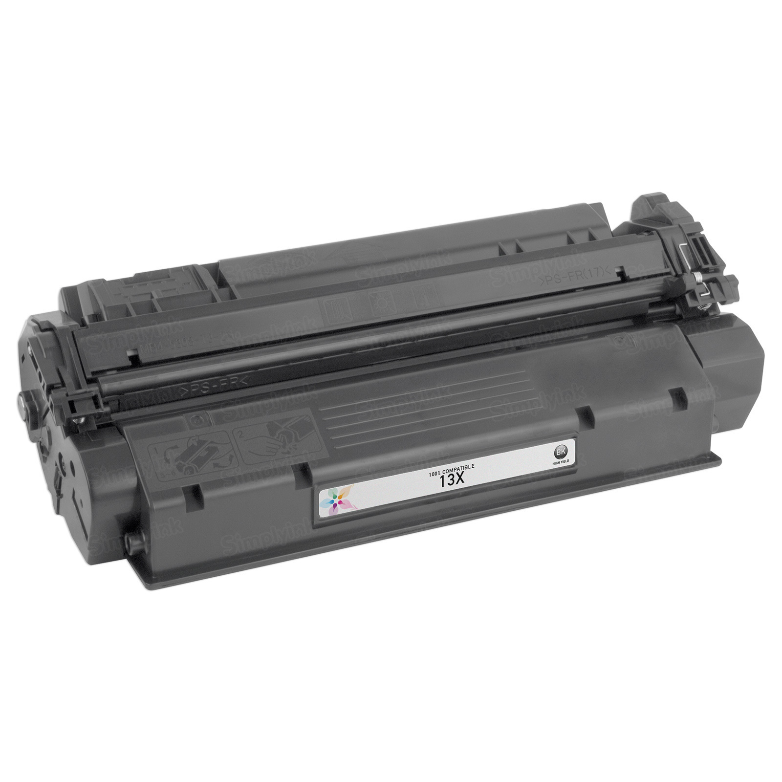 Remanufactured Replacement HY Black Laser Toner for HP 13X