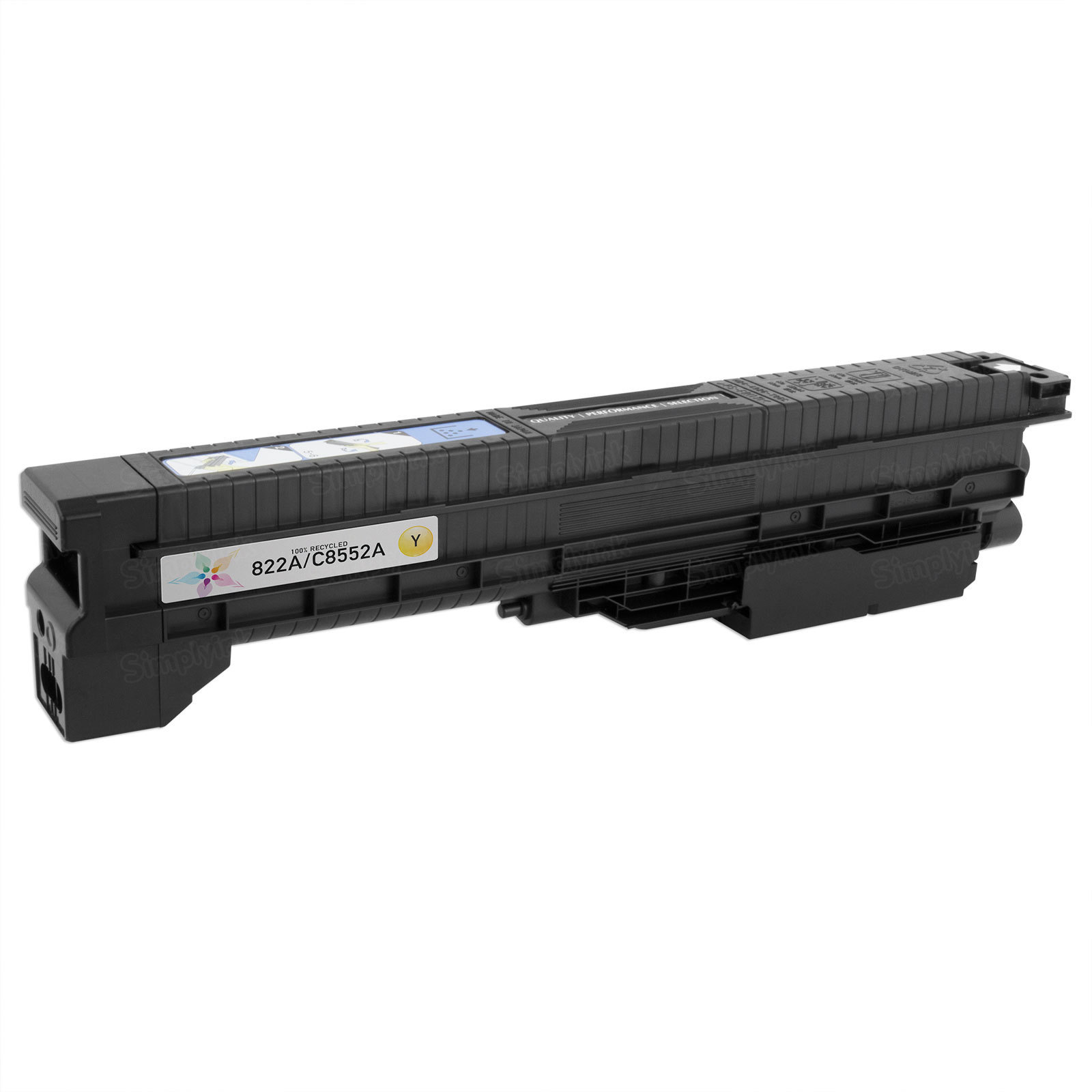 Remanufactured Replacement Yellow Laser Toner for HP 822A