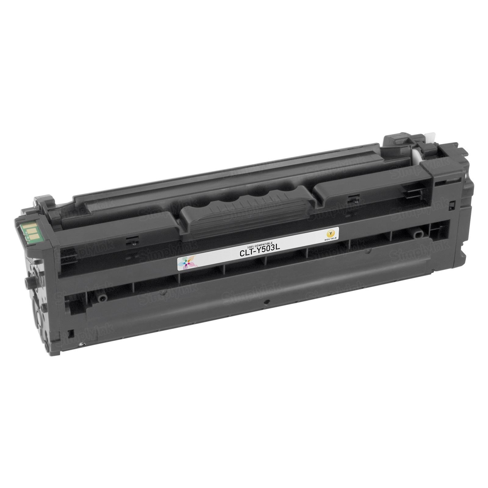 Compatible High Yield Yellow Toner for Samsung Y503L