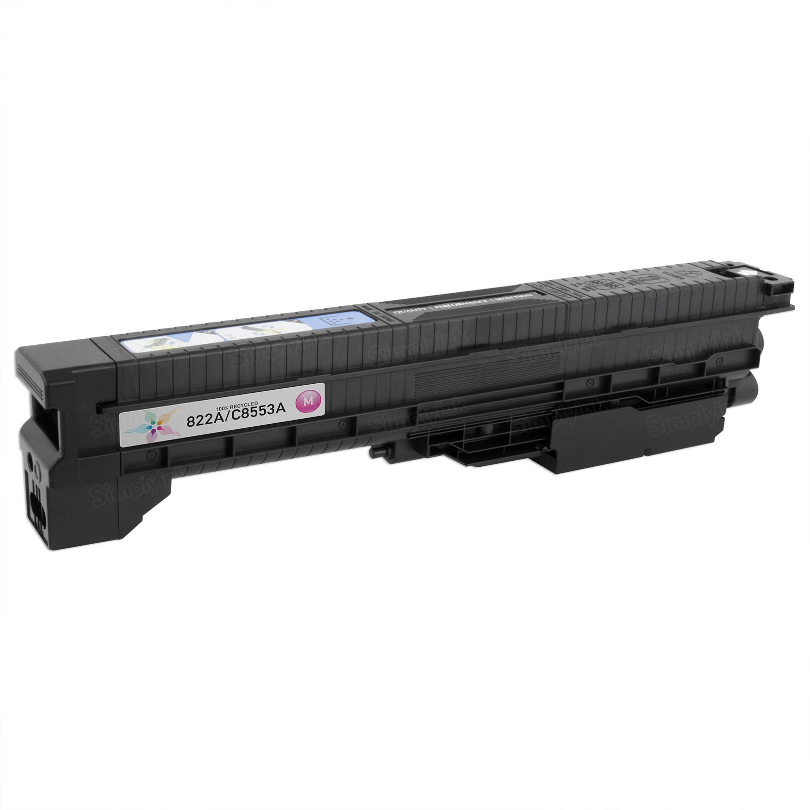 Remanufactured Replacement Magenta Laser Toner for HP 822A