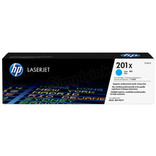 HP 201X (CF401X) Cyan High Yield Original Toner Cartridge in Retail Packaging