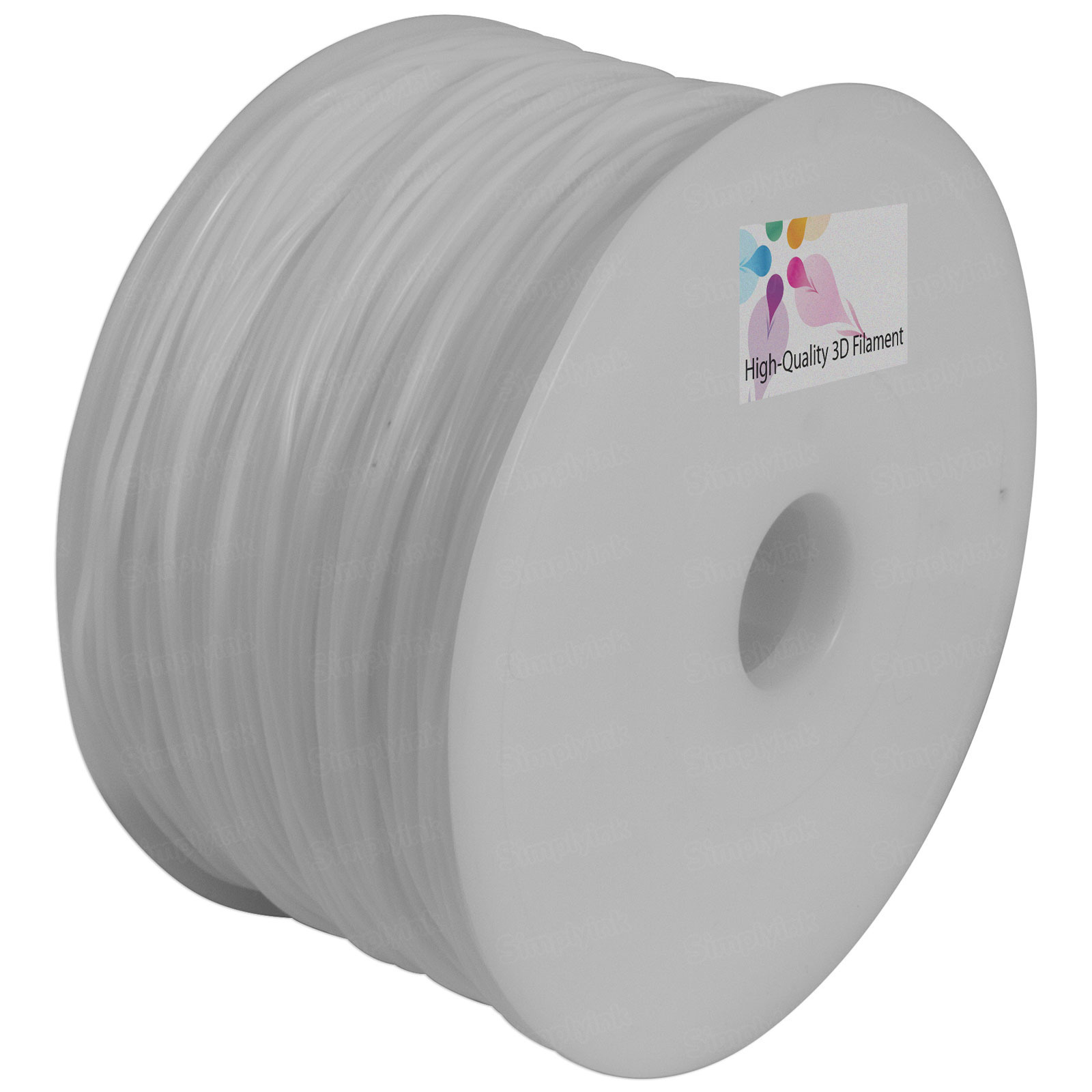 1.75mm Nylon Filament (White)
