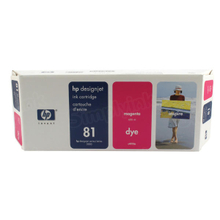 Original HP 81 Magenta Ink Cartridge in Retail Packaging (C4932A)
