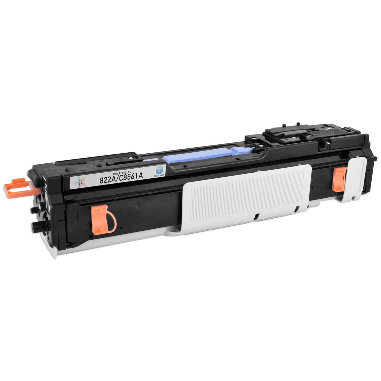 Remanufactured Replacement Cyan Laser Drum for HP 822A