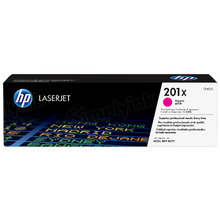 HP 201X (CF403X) Magenta High Yield Original Toner Cartridge in Retail Packaging