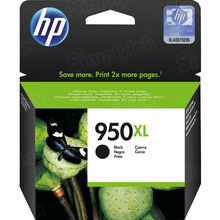 Original HP 950XL Black Ink Cartridge in Retail Packaging (CN045AN) High-Yield