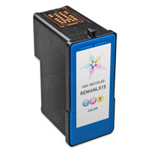 Remanufactured Lexmark 18C2110 (#15) Color Ink Cartridges