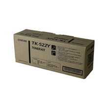 Kyocera-Mita OEM Yellow TK-522Y Toner Cartridge