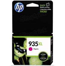 Original HP 935XL Magenta Ink Cartridge in Retail Packaging (C2P25AN) High-Yield
