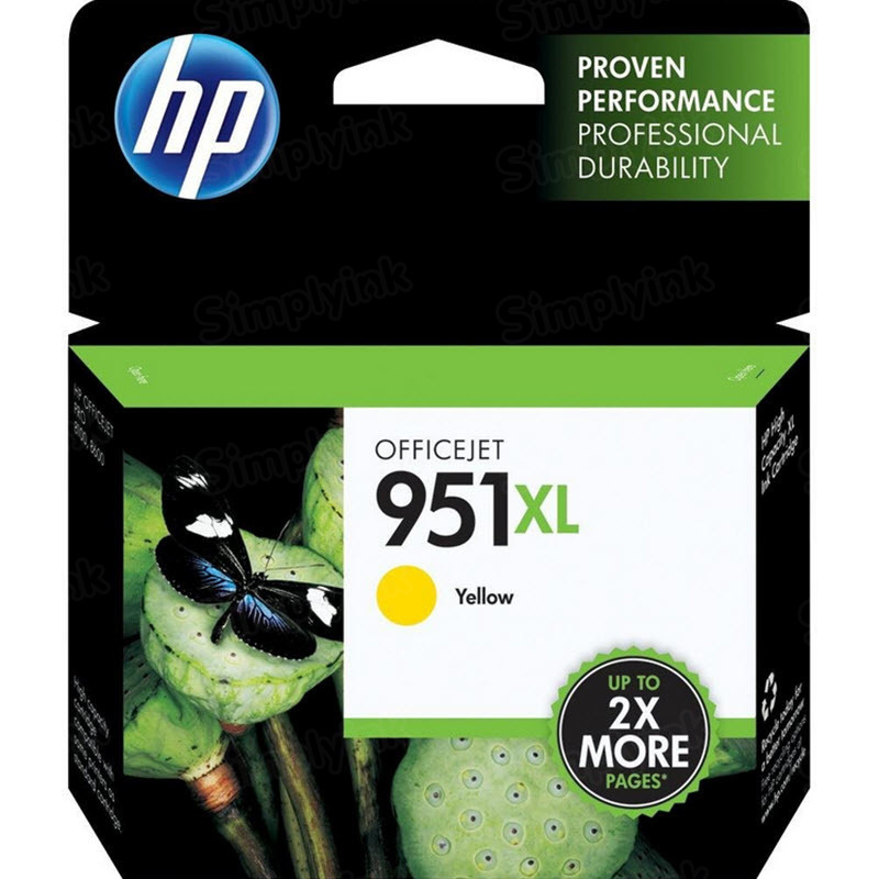 HP 951XL Yellow Original Ink Cartridge CN048AN