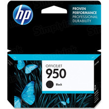 Original HP 950 Black Ink Cartridge in Retail Packaging (CN049AN)