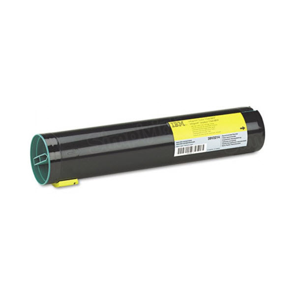 OEM IBM 39V2214 Yellow Toner Cartridge