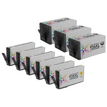Remanufactured Replacement Bulk Set of 9 for Hewlett Packard (HP 934XL and 935XL) - 3 Black & 2 Each of Cyan, Magenta, Yellow