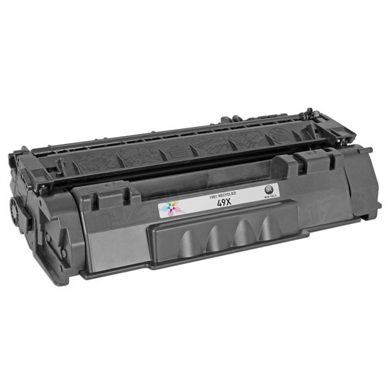 Remanufactured Replacement HY Black Laser Toner for HP 49X