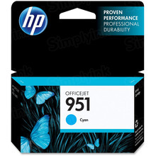 Original HP 951 Cyan Ink Cartridge in Retail Packaging (CN050AN)
