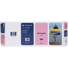 Original HP 83 Light Magenta Ink Cartridge in Retail Packaging (C4945A)
