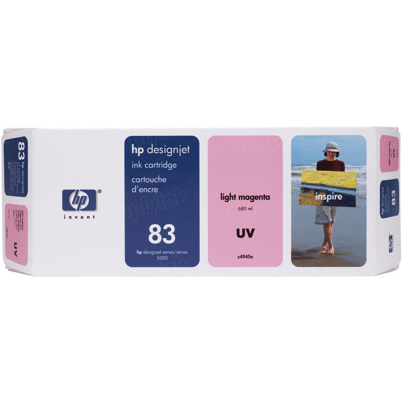 HP 83 Light Magenta Original Ink Cartridge C4945A