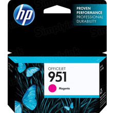 Original HP 951 Magenta Ink Cartridge in Retail Packaging (CN051AN)