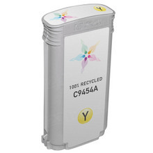Remanufactured Replacement Ink Cartridge for Hewlett Packard C9454A (HP 70) Yellow