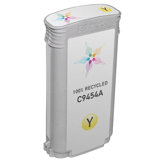 Remanufactured Replacement Yellow Ink for HP 70