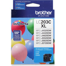 OEM LC203C for Brother High Yield Cyan Ink Cartridge