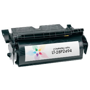 Remanufactured 28P2494 Toner Cartridge for IBM