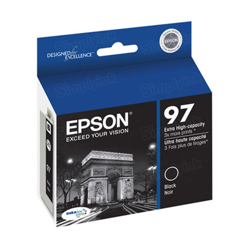 Epson 97 Black OEM Ink Cartridge (T097120)