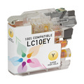 Compatible LC10EY Super HY Yellow Ink for Brother