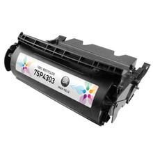 Remanufactured IBM 75P4303 High Yield Black Laser Toner Cartridges for the InfoPrint 1332, 1352, 1372