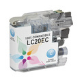 Compatible LC20EC Super HY Cyan Ink for Brother