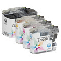 Compatible LC20E 4 Pack for Brother