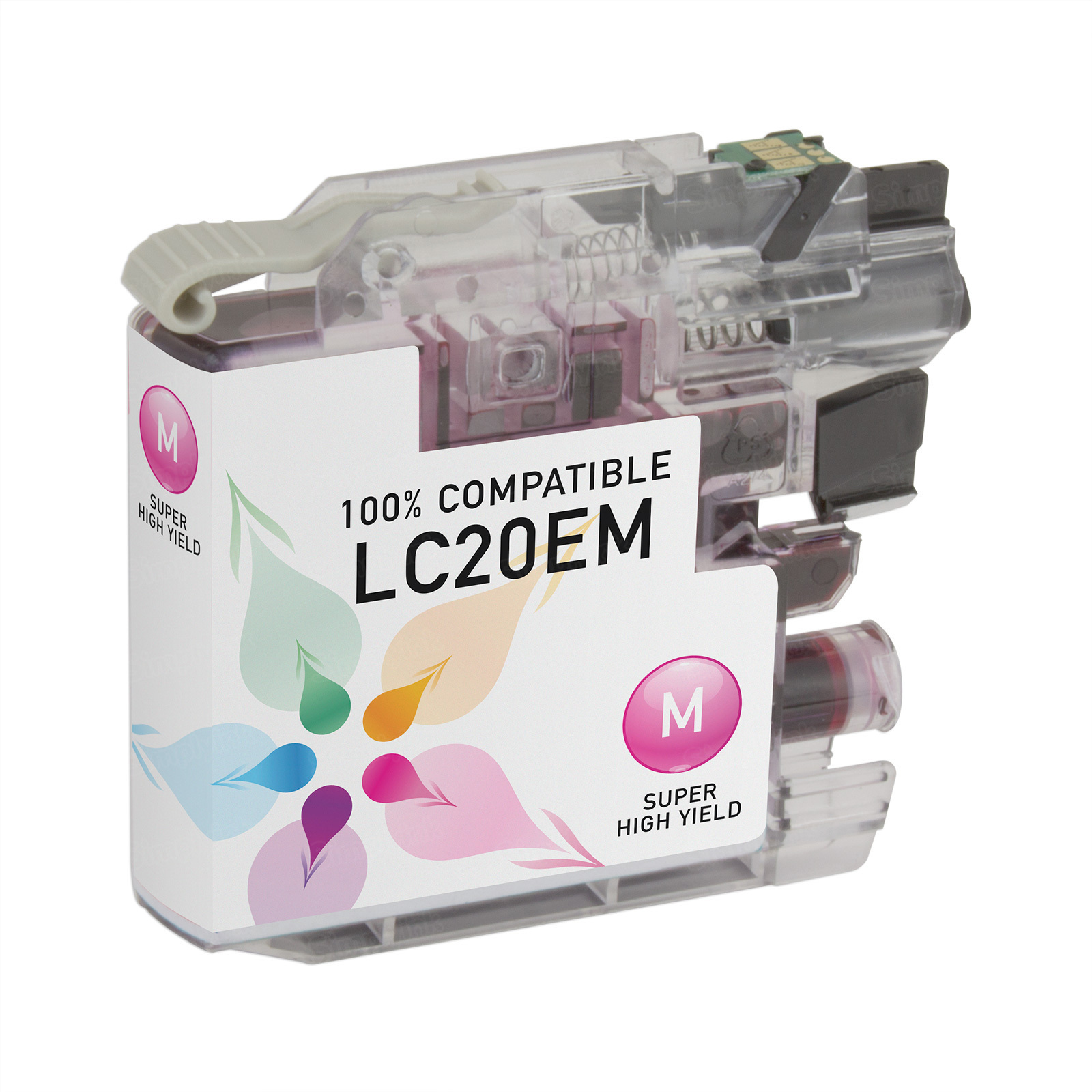 Compatible LC20EM Super HY Magenta Ink for Brother