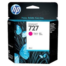 Original HP 727 Magenta Ink Cartridge in Retail Packaging (B3P14A)