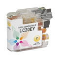 Compatible LC20EY Super HY Yellow Ink for Brother