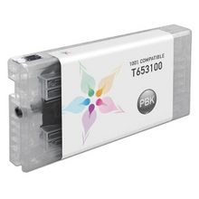 Compatible Replacement for Epson T653100 (T6531) Photo Black 200ml Ink Cartridges for the Stylus Pro 4900