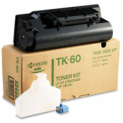 OEM Kyocera-Mita TK-60 Black Toner Cartridge