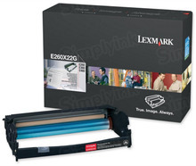 Lexmark OEM Drum Unit, E260X22G (E260/E360/E460/E462 Series) (30K Page Yield)