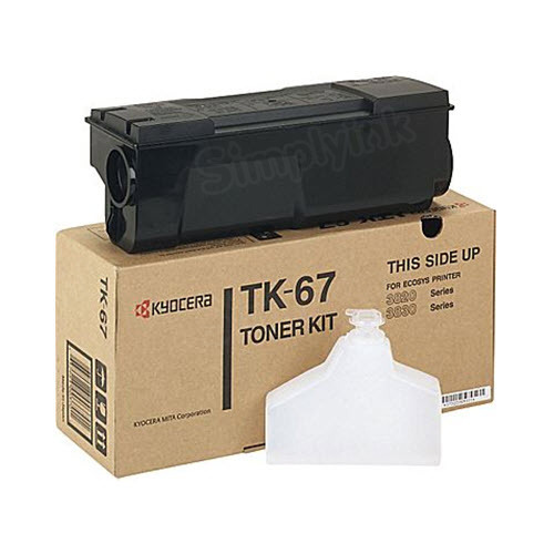 OEM Kyocera-Mita TK-67 Black Toner Cartridge
