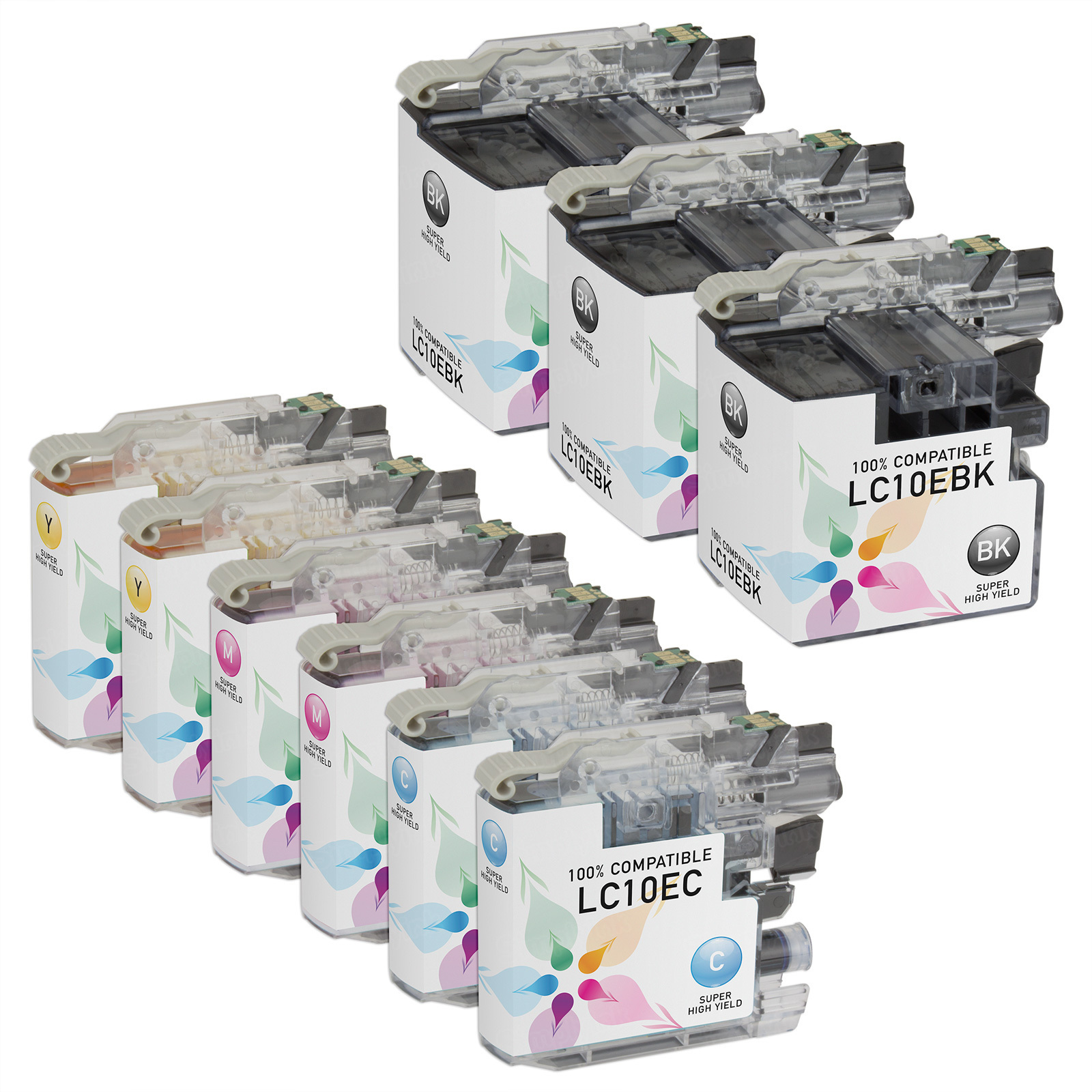 Compatible LC10E 9 Pack for Brother