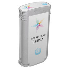 Remanufactured Replacement Ink Cartridge for Hewlett Packard C9390A (HP 70) Light Cyan