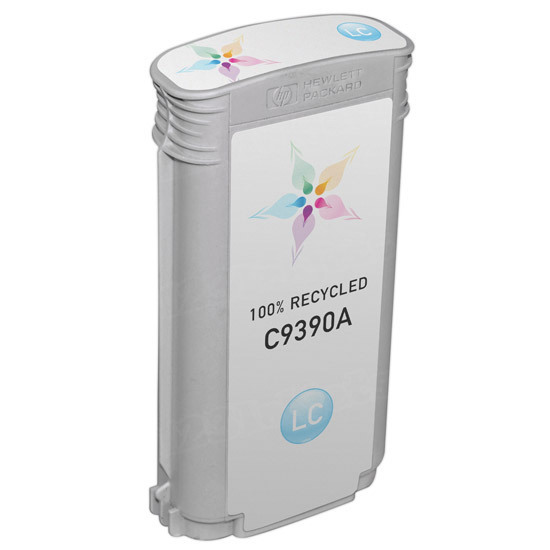Remanufactured Replacement Light Cyan Ink for HP 70